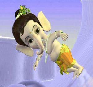 Bal Lord Ganesha Images