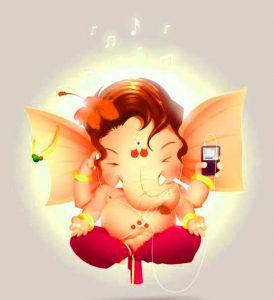 Cartoon Ganesha Images