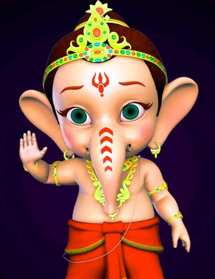 127+ Top Collection Of Ganesha Cartoon Images For Drawing Download