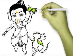 Ganesha Cartoon Images