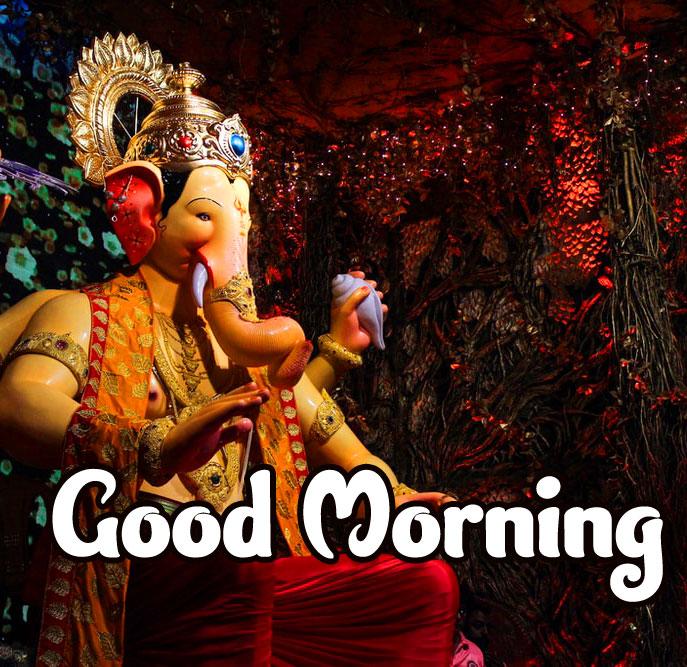 291+ Best Ganesha Good Morning Images Photo Wallpaper Download