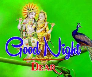 Good Night With Radha Krishna Images