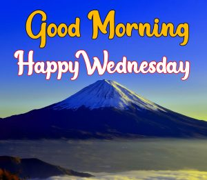 Mountain good morning happy wednesday images