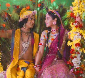 Radha Krishna Love Images