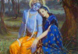 Radha Krishna Sad Images