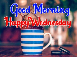 Tea cupgood morning happy wednesday images