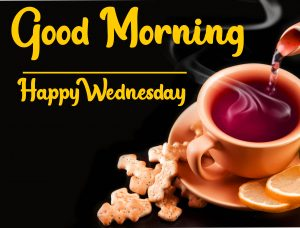 good morning tea cup happy wednesday images